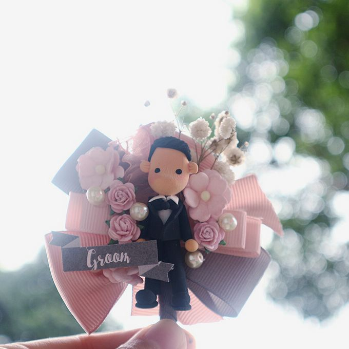 Blush Colour For Corsage And Wristband by de hijau hejo - 015