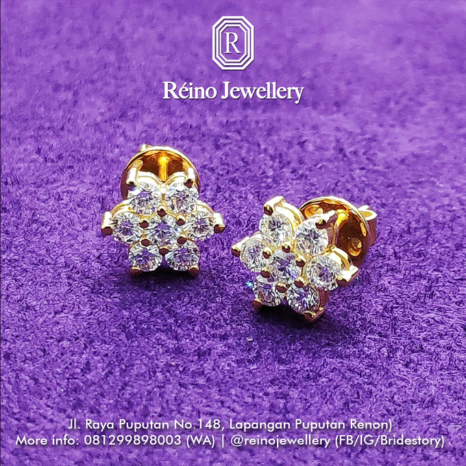 Anting anting or Earring by Reino Jewellery - 003