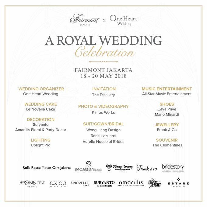 A Royal Wedding Celebration by One Heart Wedding - 002