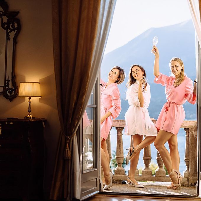 Julia Wedding At Bellagio by Bridal Luxury Beauty Service - 004