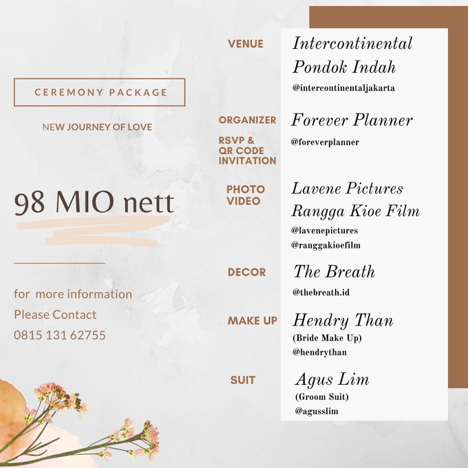 Collabs Package 2020 Akad Nikah & Holy Matrimony by InterContinental Jakarta Pondok Indah - 003
