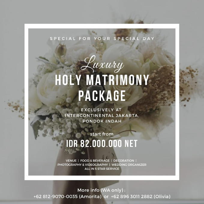 Collabs Package 2020 Akad Nikah & Holy Matrimony by InterContinental Jakarta Pondok Indah - 005