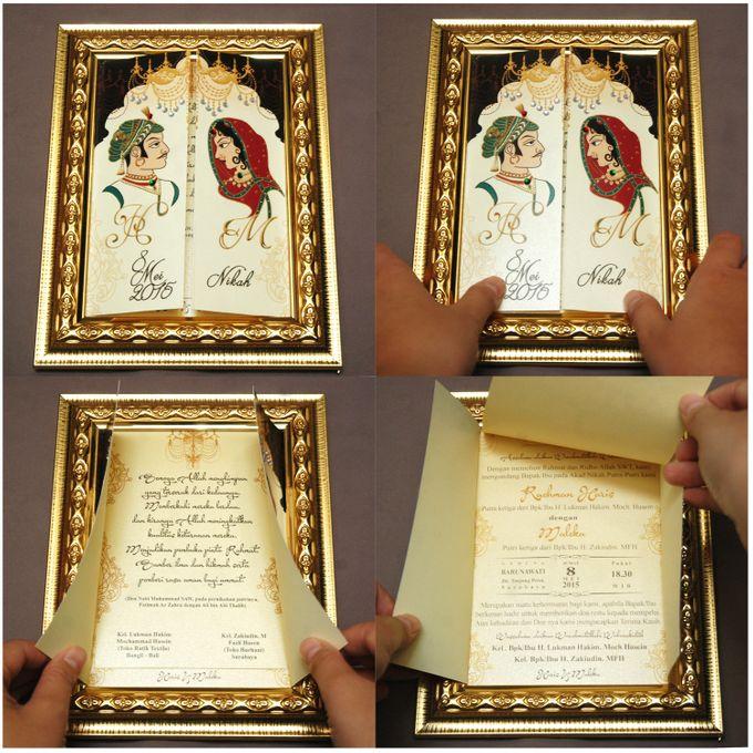 Haris & Maleka Invitation by Fancy Boon - 002
