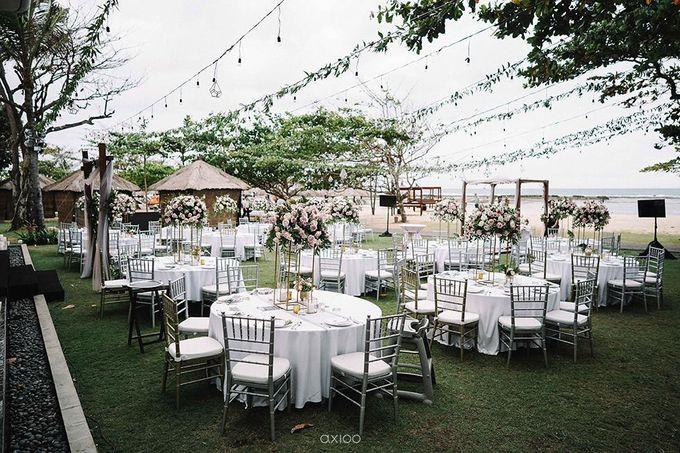 Beachfront Wedding at Sofitel Bali by WiB flowers - 004