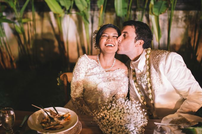 Javanese Traditional Wedding of Indonesian & Italian Nationalities in Bali by fire, wood & earth - 038