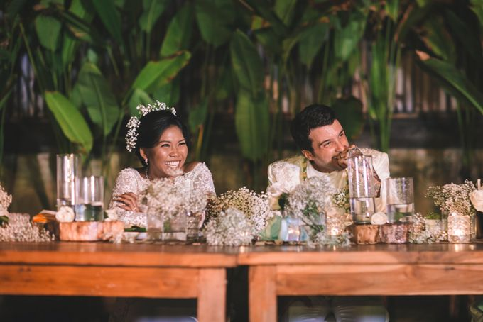 Javanese Traditional Wedding of Indonesian & Italian Nationalities in Bali by fire, wood & earth - 041