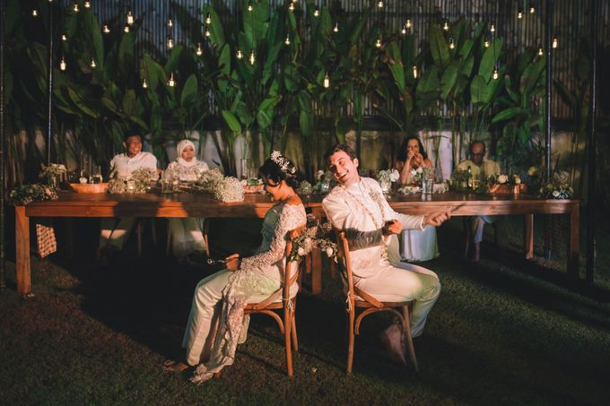 Javanese Traditional Wedding of Indonesian & Italian Nationalities in Bali by fire, wood & earth - 042