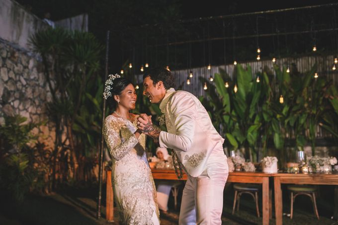 Javanese Traditional Wedding of Indonesian & Italian Nationalities in Bali by fire, wood & earth - 045