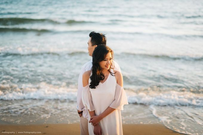 Isabella & Ricky Melbourne Prewedding by Elly Liana Makeup Artist - 015