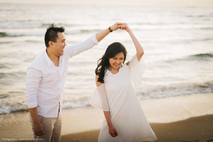 Isabella & Ricky Melbourne Prewedding by Elly Liana Makeup Artist - 023