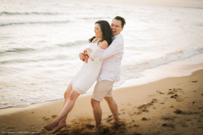 Isabella & Ricky Melbourne Prewedding by Elly Liana Makeup Artist - 025