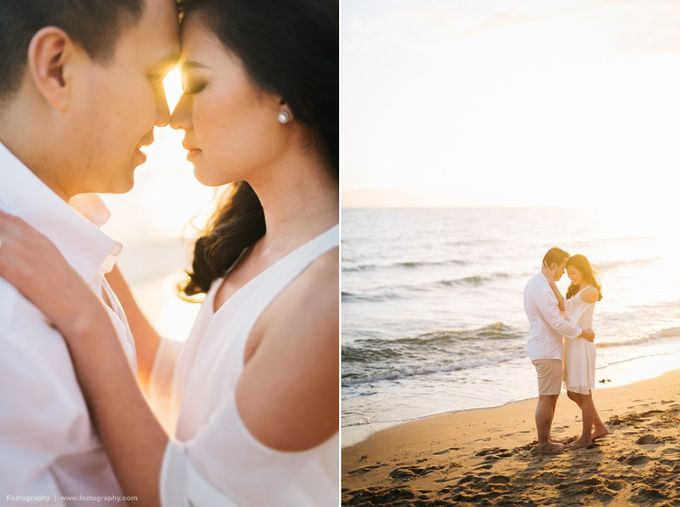 Isabella & Ricky Melbourne Prewedding by Elly Liana Makeup Artist - 018