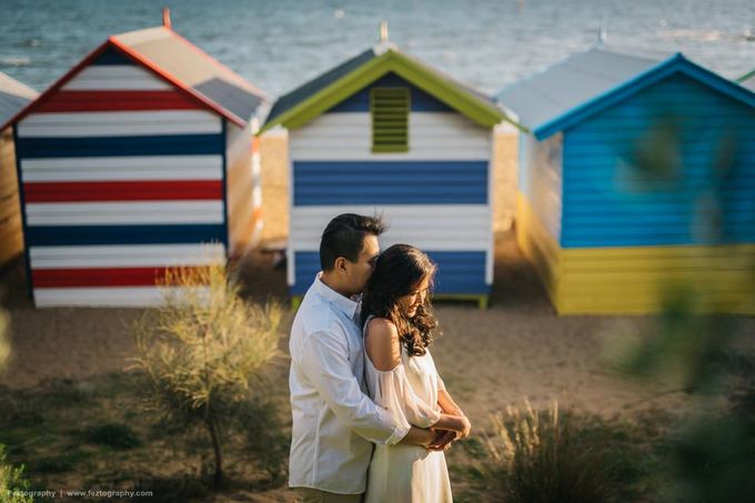 Isabella & Ricky Melbourne Prewedding by Elly Liana Makeup Artist - 003