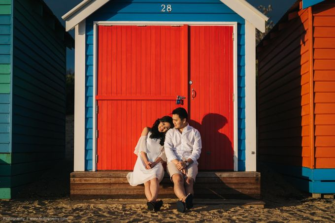 Isabella & Ricky Melbourne Prewedding by Elly Liana Makeup Artist - 007