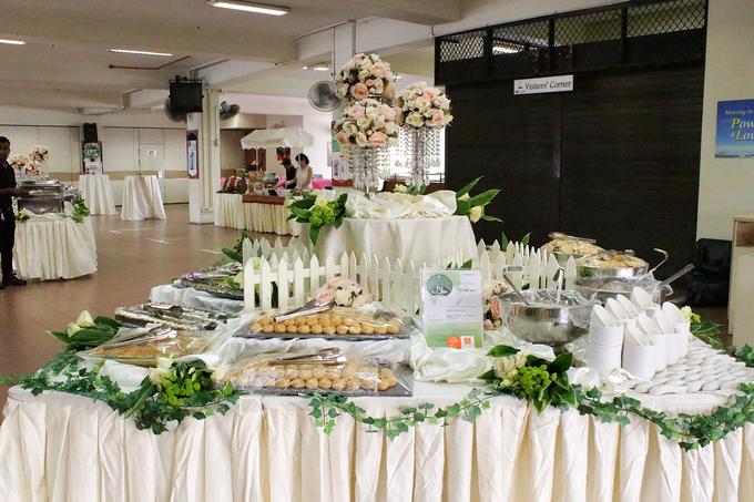 Paya Lebar Church Wedding by Manna Pot Catering - 011