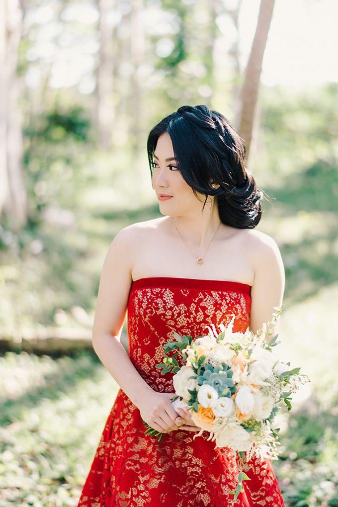 The Wedding of Ita & Yanoto at Ayana by Red Gardenia - 003