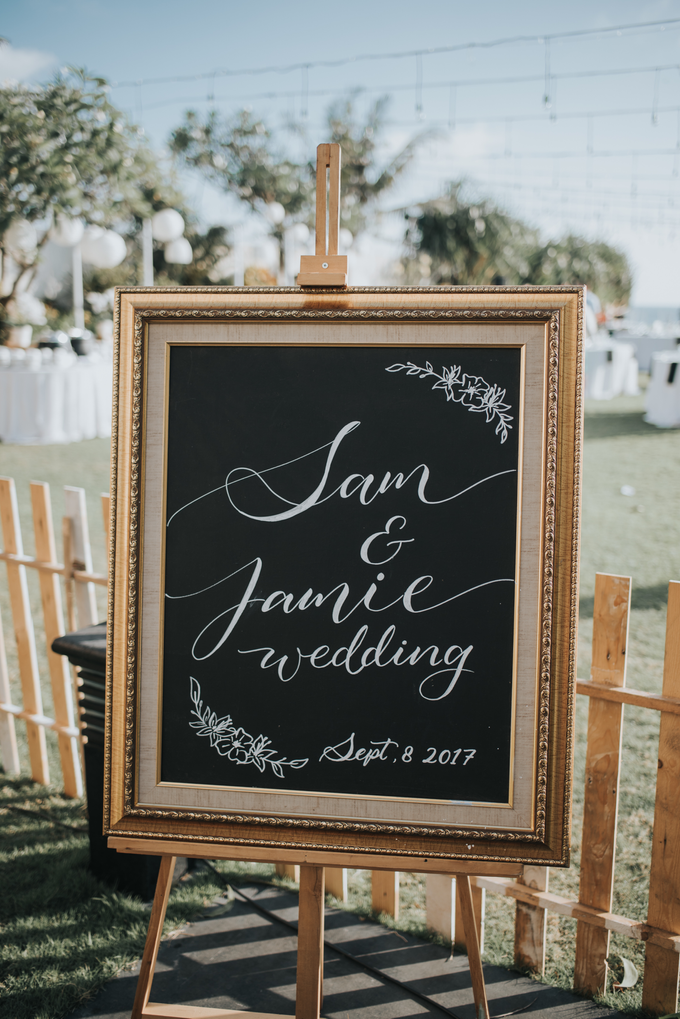 Sam & Jamie Wedding by It's True Wedding Planner and Decoration - 025