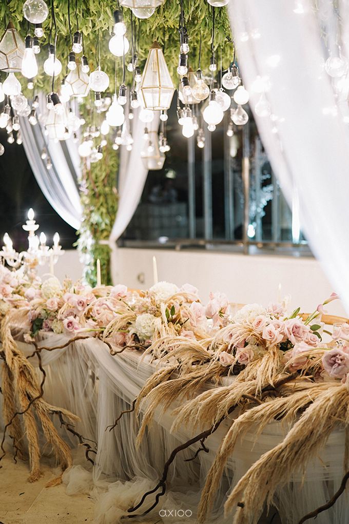Wilson & Felicia Wedding  by Lumbung Catering - 003