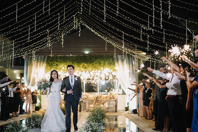 Wilson & Felicia Wedding  by Lumbung Catering - 002