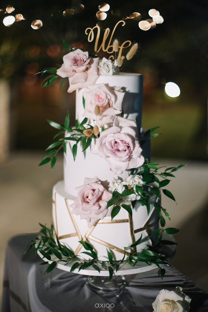 Wilson & Felicia Wedding  by Lumbung Catering - 006