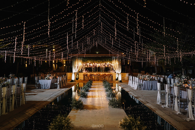 Wilson & Felicia Wedding  by Lumbung Catering - 009