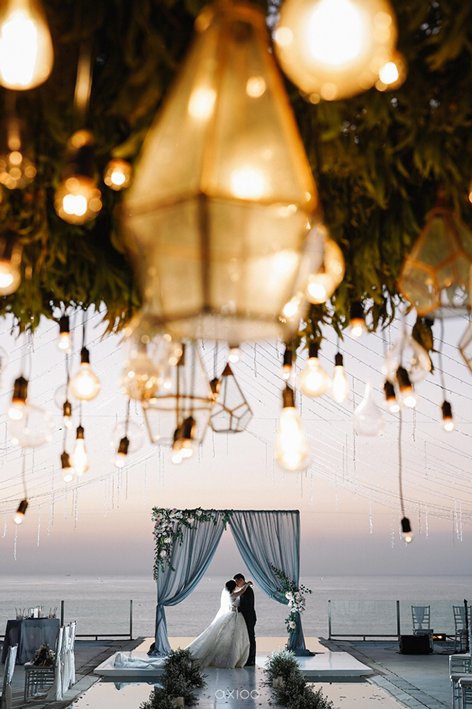 Wilson & Felicia Wedding  by Lumbung Catering - 013