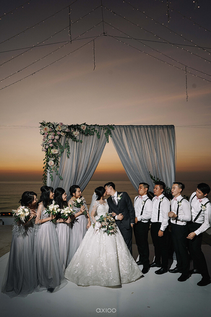 Wilson & Felicia Wedding  by Lumbung Catering - 014