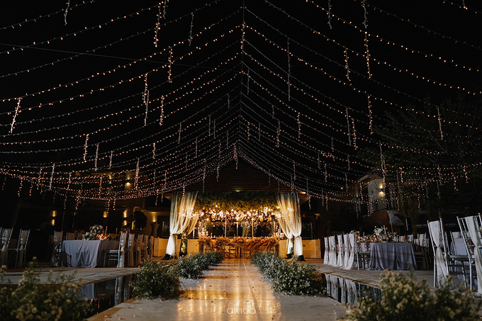 Wilson & Felicia Wedding  by Lumbung Catering - 012