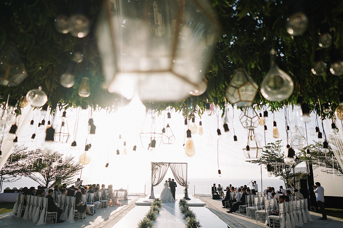 Wilson & Felicia Wedding  by Lumbung Catering - 016