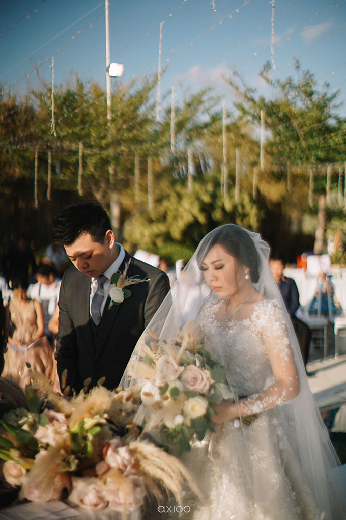 Wilson & Felicia Wedding  by Lumbung Catering - 017