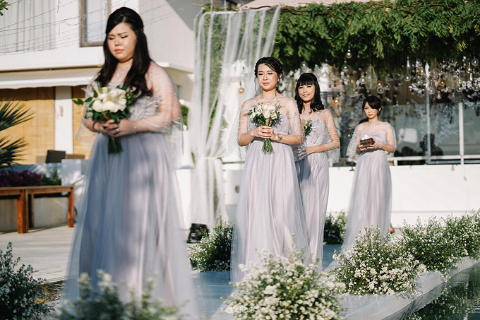 Wilson & Felicia Wedding  by Lumbung Catering - 019