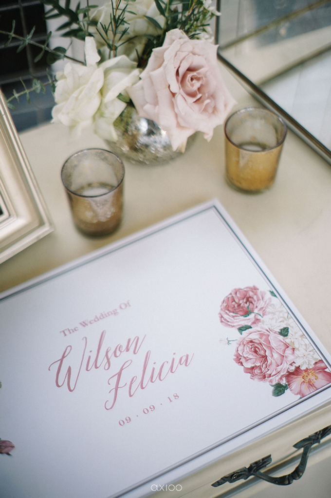 Wilson & Felicia Wedding  by Lumbung Catering - 030