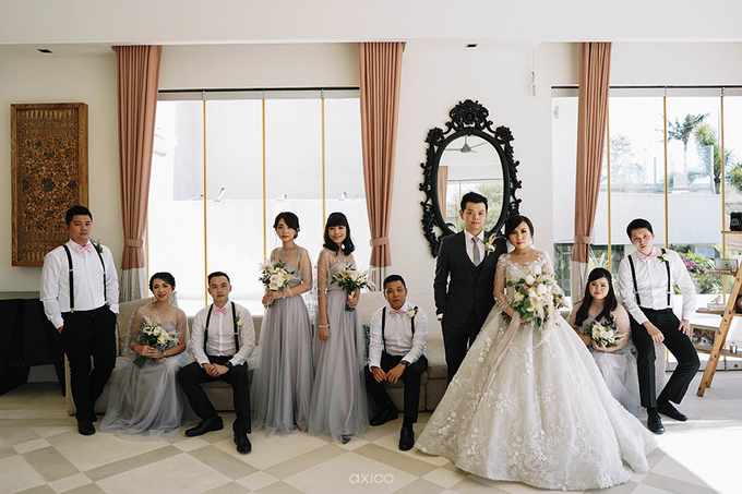 Wilson & Felicia Wedding  by Lumbung Catering - 032