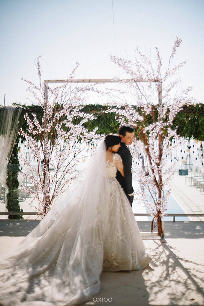 Wilson & Felicia Wedding  by Lumbung Catering - 033