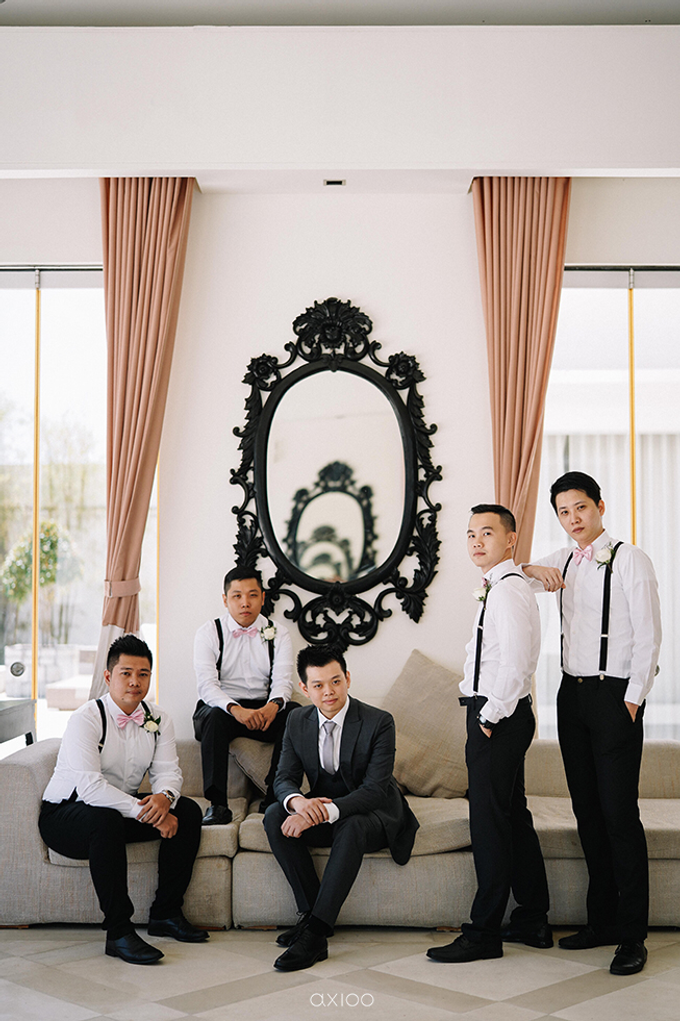 Wilson & Felicia Wedding  by Lumbung Catering - 037