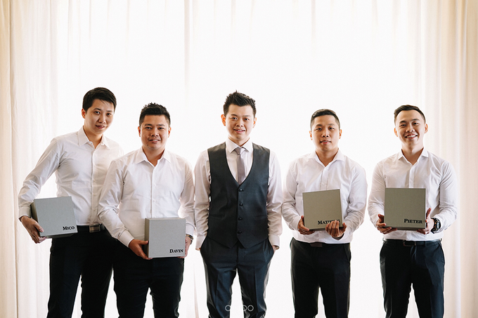 Wilson & Felicia Wedding  by Lumbung Catering - 038