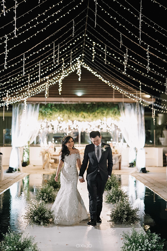 Wilson & Felicia Wedding  by Lumbung Catering - 046