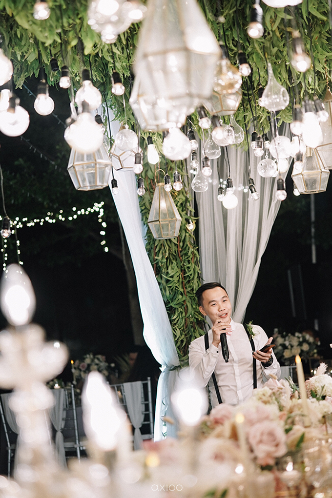 Wilson & Felicia Wedding  by Lumbung Catering - 047