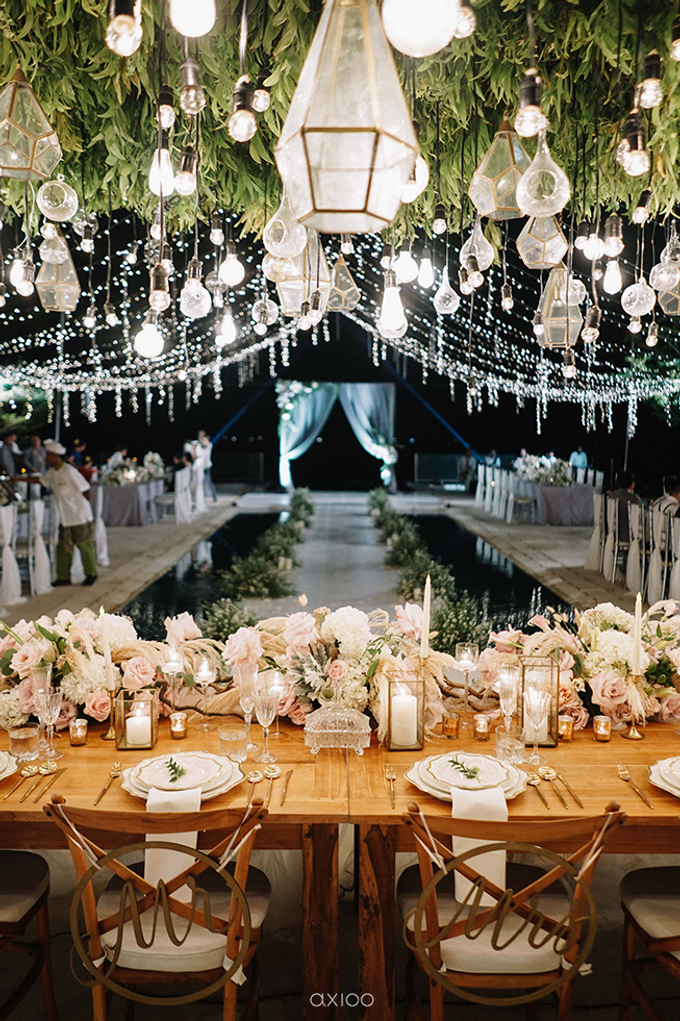 Wilson & Felicia Wedding  by Lumbung Catering - 050