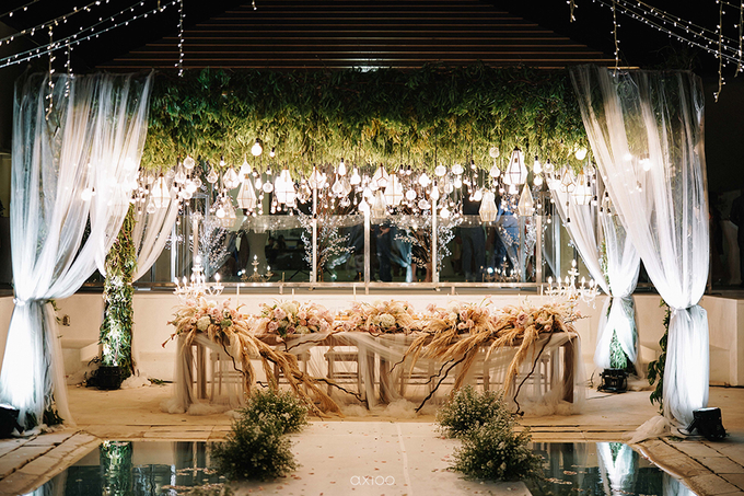 Wilson & Felicia Wedding  by Lumbung Catering - 049