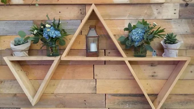 RUSTIC BACKDROP PHOTOBOOTH by It's True Wedding Planner and Decoration - 006