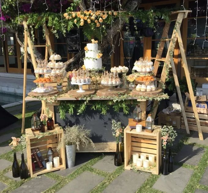 Sweet Corner Decoration by It's True Wedding Planner and Decoration - 001