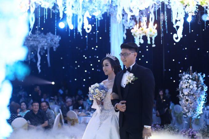 Wedding Of Danny & Elizabeth by Cozzy Photo Print - 004