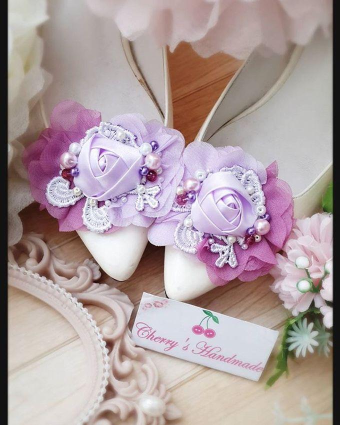 Flowery Shoeclips by Cherry's  Handmade - 005