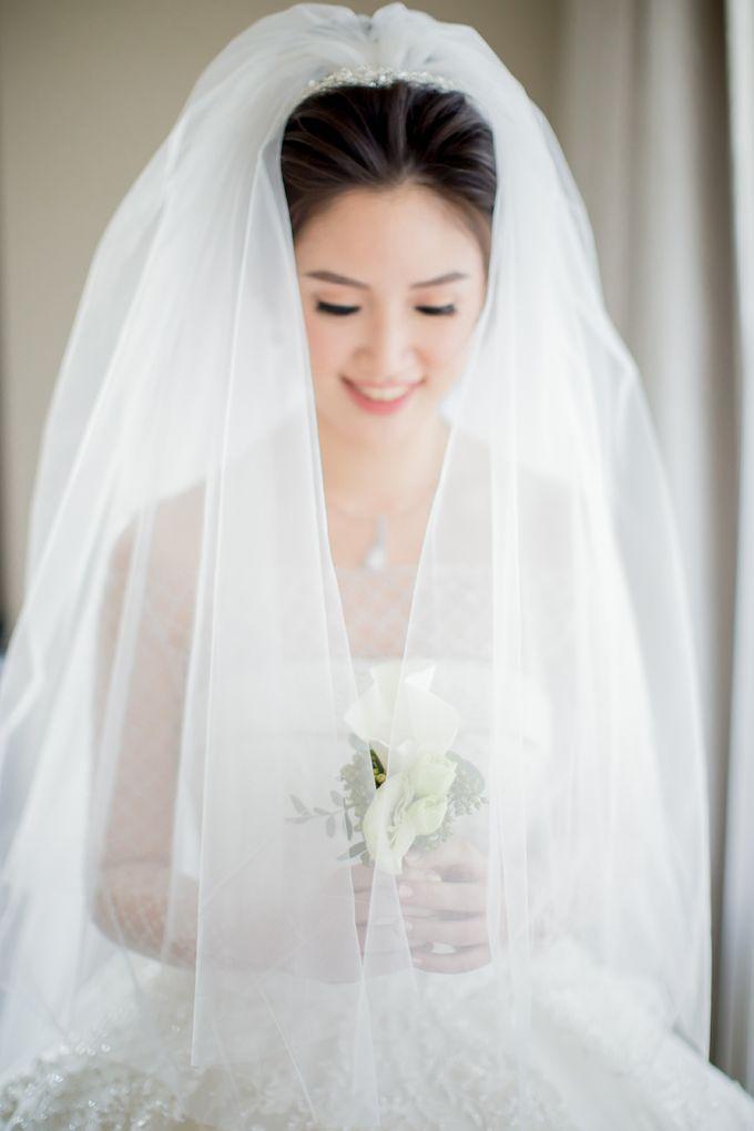 Grace Wedding. Natural & Korean Style Make Up by Marsia Yulia Signature. Natural and Korean Make Up Specialist. - 006