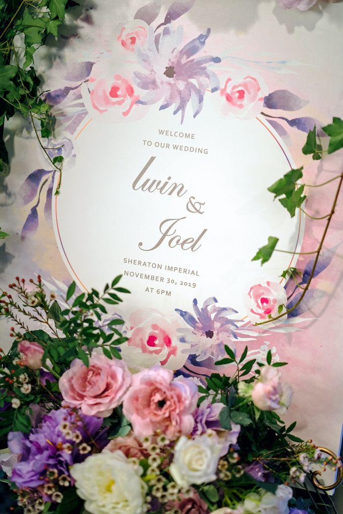 Iwin & Joel - Fairytale lilac wedding by Blissmoment - 004