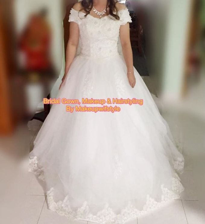 Beautiful Bridal Gowns by Makeupwifstyle - 021