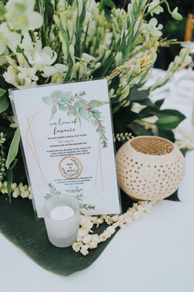Michael & Medy Wedding by Bloomz Flower Bali - 006