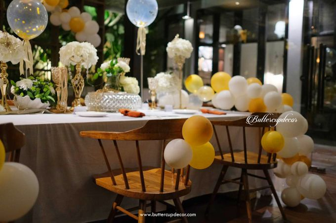 Gold Table Decor by Buttercup Decoration - 003