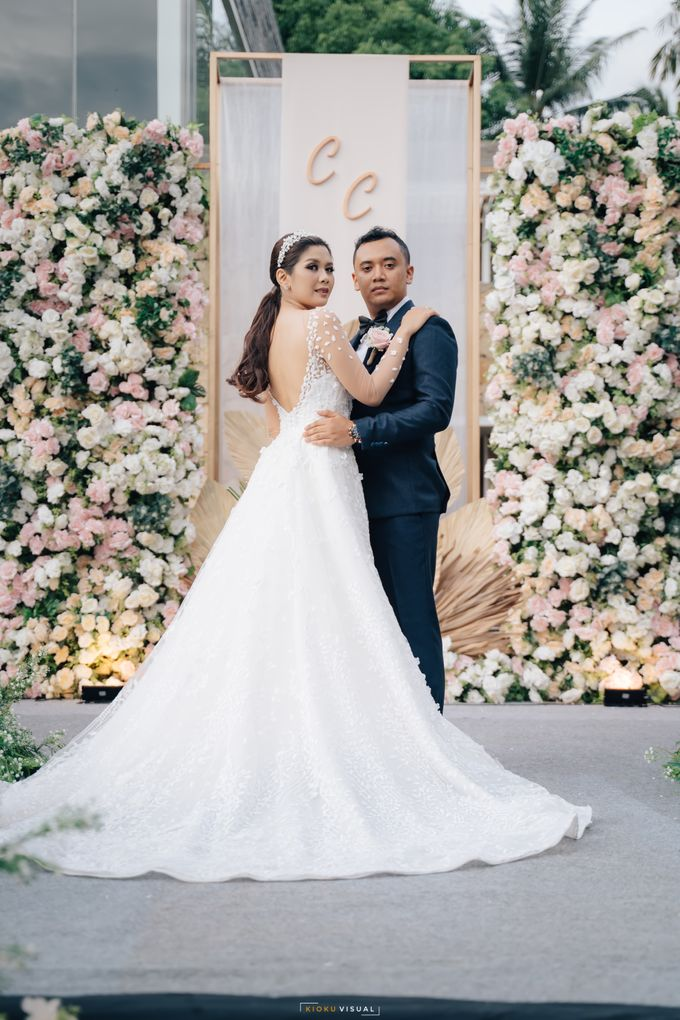 The Wedding Of Christian and Claudia by Kate Bridal and Couture - 011